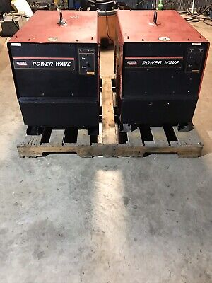 2- Lincoln Powerwave 455 Welders  Power Source Mig Tig Stick
