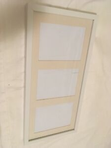 IKEA White Ribba Picture Frame - perfect condition 21x10 inches