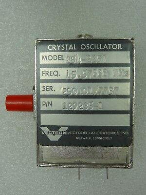Vectron Model 254-2357 Crystal Oscillator Pn 129235-1 45.57888 Mhz