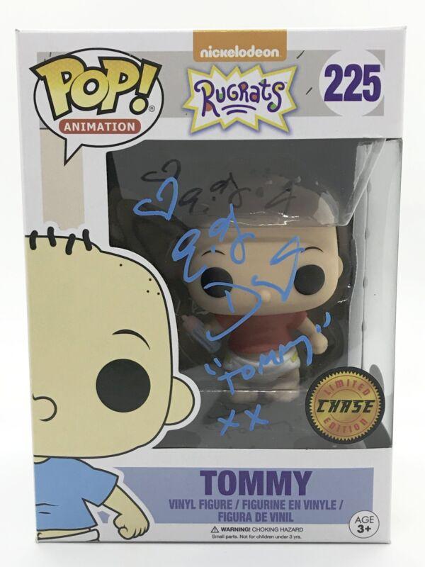 EG Daley Signed Funko Pop Rugrats Tommy Chase Figure JSA COA