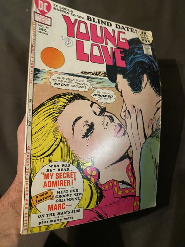 YOUNG LOVE # 90 DC 52 Page Romance Classic 1971