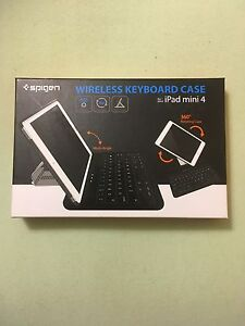 iPad mini 4 wireless keyboard case