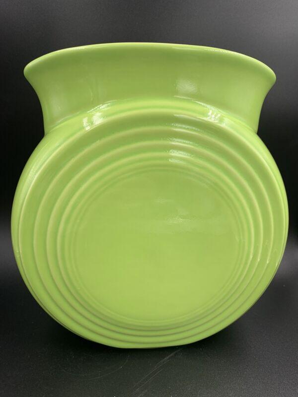 Fiestaware Chartreuse Green Millennium II Vase Fiesta Limited Edition HLC