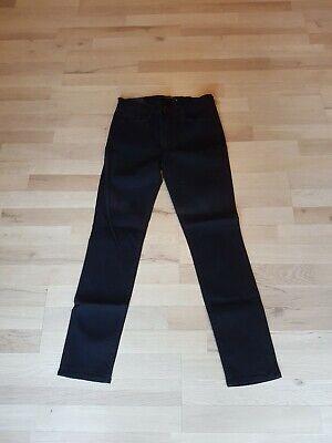 J BRAND Women's Mid Rise Skinny Leg Black Denim Jeans Sz 30 BNWT Defective