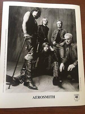 AEROSMITH 2003 PRESS PHOTO - 8 x 10