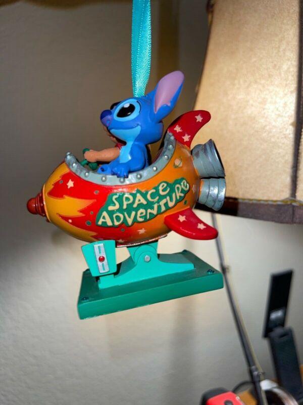 Disney Sketchbook Ornament 2013 Lilo and Stitch Space Adventure -RARE -