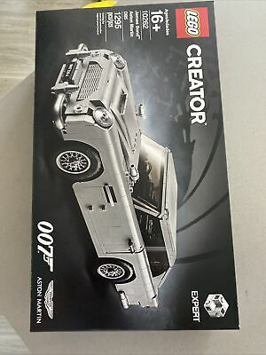 Lego 10262 Creator James Bond Aston Martin DB5 Set New in Sealed Box