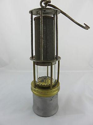 Grubenlampe Wilhelm Seippel Z.L. 630 A Lampe de mineur Miners Lamp