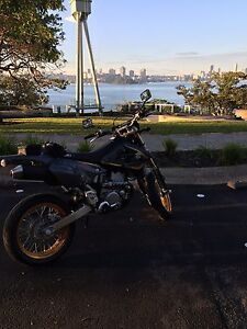 2016 DRZ400sm plus Dainese gear Cremorne Point North Sydney Area Preview