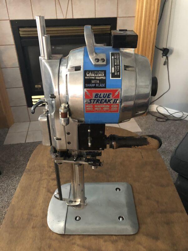 Eastman Blue Streak II Fabric Cutting Machine Model 629DS, 220 Volts, 2.41Amps