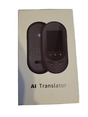 Language Translator Device Offline Translator Device Two Way Instant Voice Trans