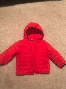 GAP primaloft toddler boys jacket size 2 years/2T