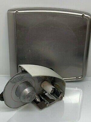 Hobart Quantum Digital Deli Scale Label Printer Cassette Insert Stainless Plater