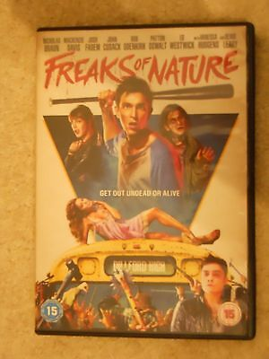 Freaks of Nature - comedy horror DVD. Hudgens Herzog Leary Cusack Cult - Comedy/horror Halloween Movies