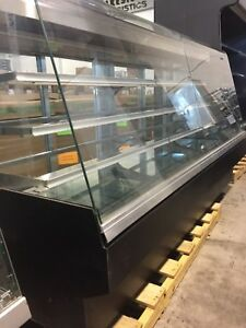 "8"" Bakery Display Case Refrigerated with Lights"