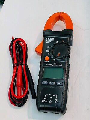 Klein Tools Cl210 Digital Clamp Meter Ac Auto-ranging With Temp New