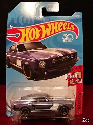 '67 Mustang #315 * PURPLE * 2018 Hot Wheels P Case Intern * B29