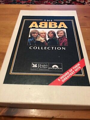 ABBA THE ABBA COLLECTION Mega rare Canadian box x 4  cassettes still sealed FAB