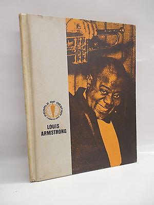Louis Armstrong Book People Of Destiny Jazz Trumpeteer 1967 Hardback