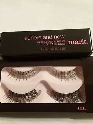 Avon Mark Lash Is More Easy-On Faux & Adhesive you get 2 sets of lashes New