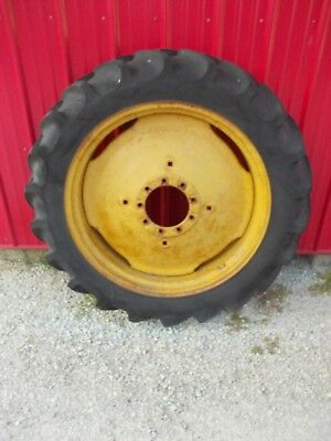 11.2 X 34 Tire 95 Massey Harris John Deere Tractor 9 Bolt Press Steel Rims