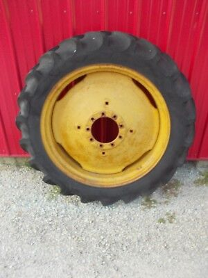 11.2 X 34 Tire 95 Massey Harris John Deere Tractor 9 Bolt Press Steel Rim