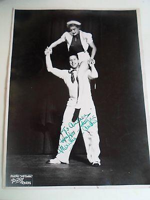 Duroy Paris  Photograph MANLEY & AUSTIN Personal Inscription SIGNED