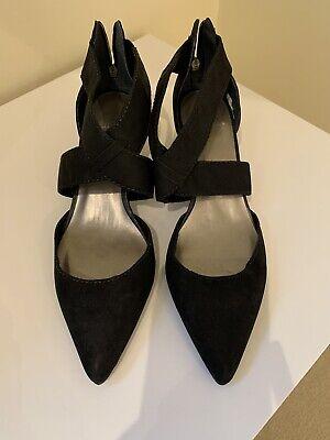 ladies FAITH Black shoes size 6