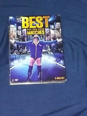 WWE: Best Pay-Per-View Matches 2013 (3-DVD Set) All Mint