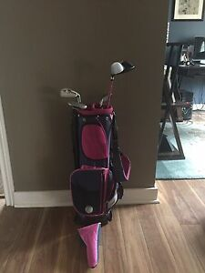 Girls Youth Starter Golf Club Set