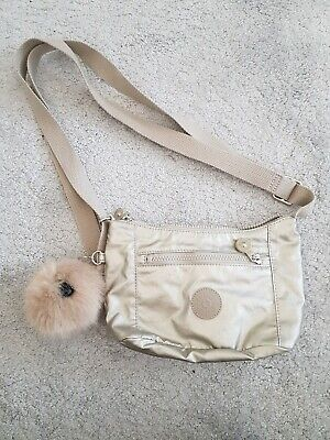 Kipling Adel Silver Metallic Small Bag