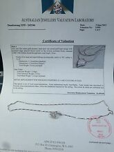 18 ct white gold pendent and 18ct white gold necklace Dandenong Greater Dandenong Preview