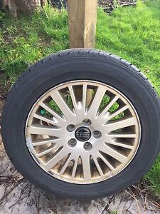 New Volvo S80 Rims and All season Tires