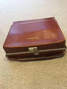 Vintage Polaroid Camera with Flash, Flash Bulbs and Carrying Case Bowden Charles Sturt Area Preview