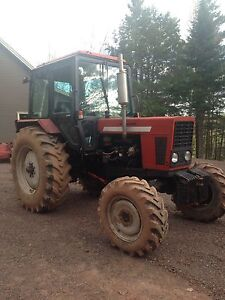 1994 Belarus Tractor 4x4 65Hp Diesel with Hydraulic Snowblower