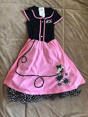 Sock Hop Clothes (Kids Sock Hop  Costume Size Child)