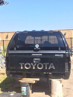 Toyota hi Lux SR5 Ute Tab,Canopy, Tub Liner, Tail lights, Chromestep