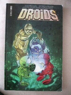 Star Wars Graphic Novel - Droids - Box Tree First Print