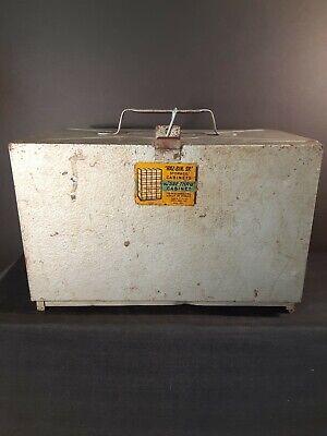 Haz-bin Sr. Storage Cabinets Metal Vintage The See Thru Cabinet