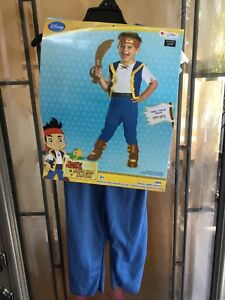 Jake & the Neverland pirates Halloween costume size 2 t (todder)