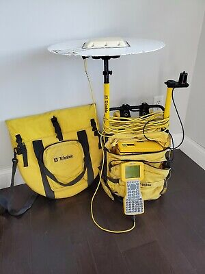 Trimble Survey Backpack 4400 Receiver Tsc1 Data Collector L1l2 Antenna Cables
