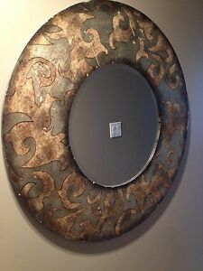 Multi items vintage mirror and more