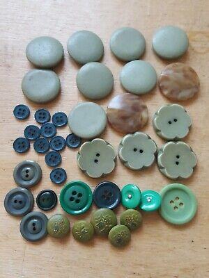 Vintage Buttons Job Lot L