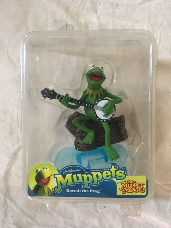 Kermit The Frog Banjo and Log the Muppets Toy