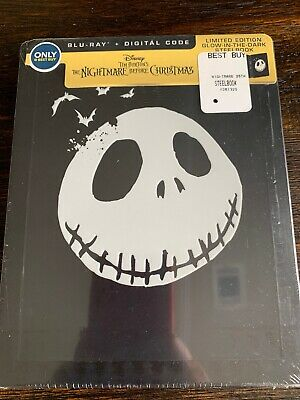Halloween The Movie Music (The Nightmare Before Christmas (Blu-ray, Digital) GLOW IN THE DARK STEELBOOK)