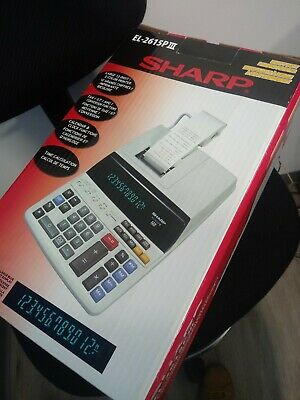 Sharp Calculators EL2615PIII