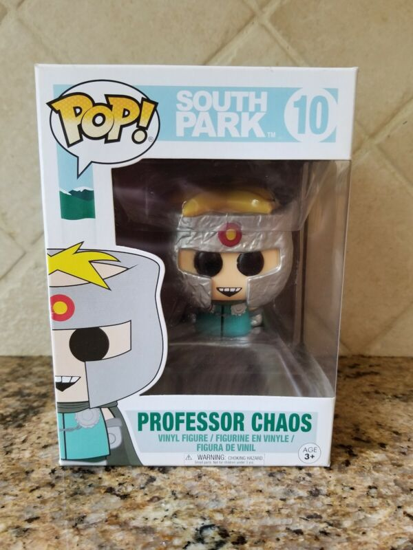 Funko Pop Vinyl Figur #10 South Park Butters Professor Chaos MINT