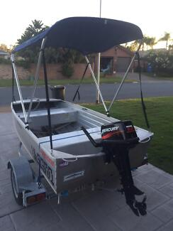 2007 Stacer tinny, 6hp mercury, belco custom trailer Robina Gold Coast South Preview