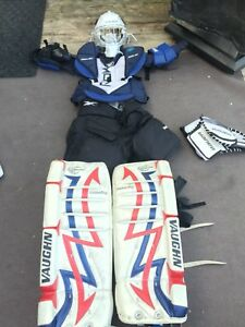 Goalie equipment for Novice / beginning Atom player