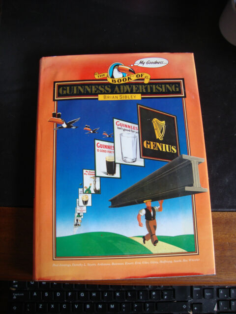 Book of Guinness Advertising by Brian Sibley (Hardback, 1985)